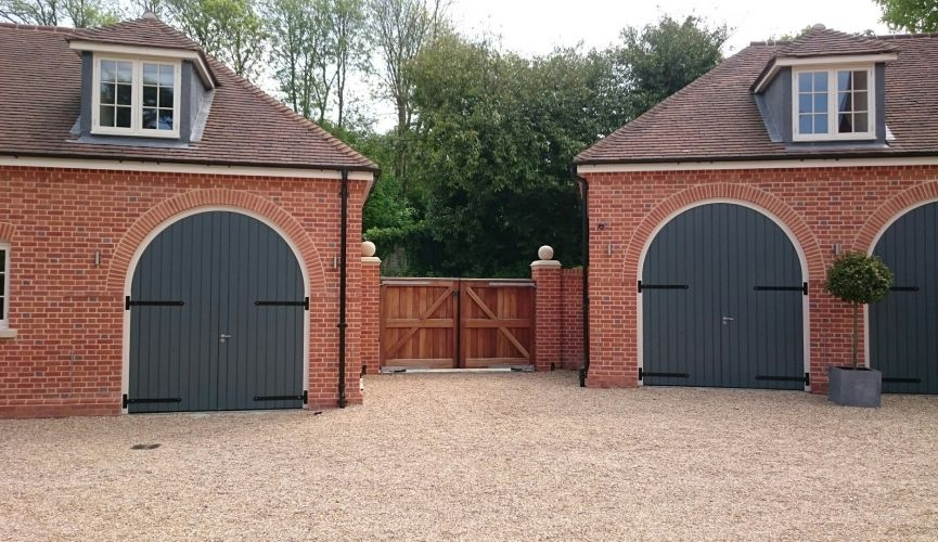 New Entrance Gates